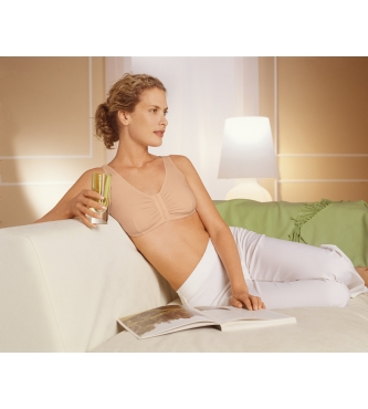 Amoena Frances Leisure Front Opening Mastectomy Bra